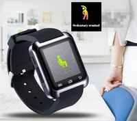 Factory price!!! 2015 new fashion bluetooth android smart watch U80 smart watch