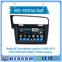 2016 Cheap single din touch screen car dvd player for VW golf,android car gps for VW golf in dash with Radio ,Audio GPS,MP4