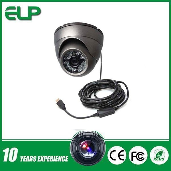 Driver face recognization infrared small usb 2,0 security and protection cctv color camera