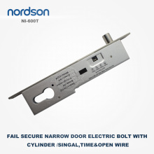 Drop Lock With Key Embedded Electronic Door Bolt Electric