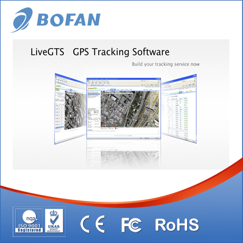 GPS tracking platform software for fleet management solution