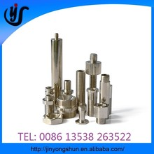 CNC machine spare part, aluminium grinder mixed colours parts