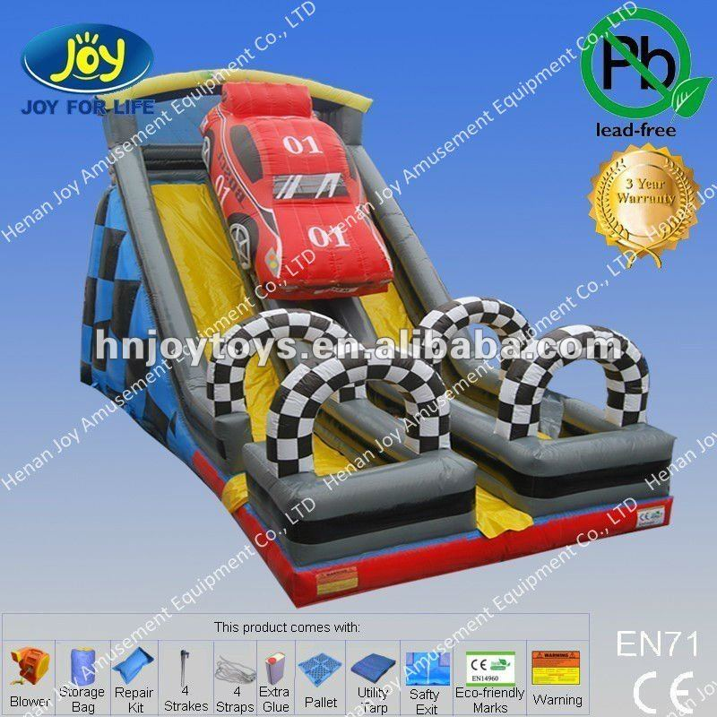 Wholesale price car model inflatable water slides sydney for kids