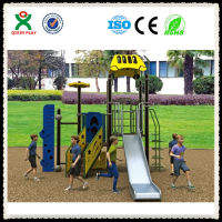 Hot sale 18 years golden supplier kid games/playground equiptment/funbrain playground QX-046D