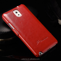 Newest Classic Style Elegant Taste Quality PU Leather Universal Shockproof Cute Cell Smartphone Case for Samsung Galaxy Note 3