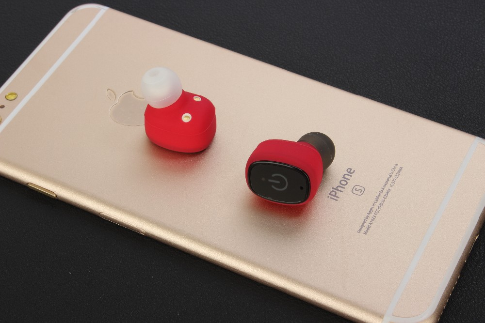 New Arrival Mini Wireless Headphone Bluetooth Stereo Earbuds Earphone with Powerbank