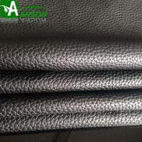 Big litchi pattern embossing pu leather pvc leather for sofa cover