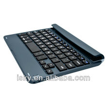 New Arrival Slim Portable Wireless Bluetooth Keyboard Case Cover Aluminum Stand Protector for Apple Ipad Mini