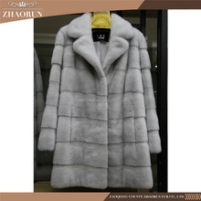 Wholesale Natural Soft Winter Real Fur Coat Garment Mink Fur Coat