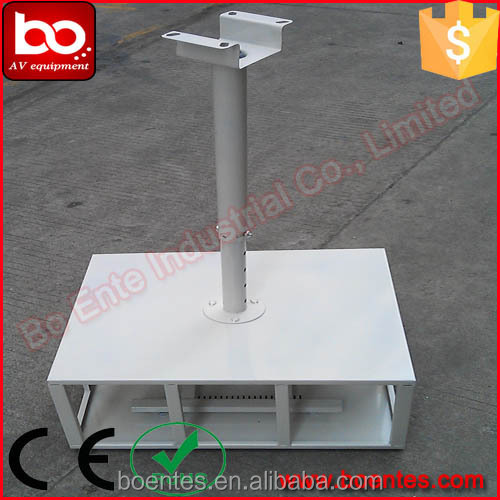 Cold Rolled Steel Projector Ceiling Mounting Retractable Cage PBC-100