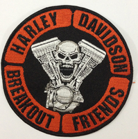 Embroidery sport patch