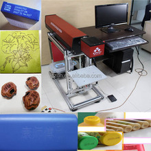 CE leather paper wood acrylic CO2 laser marking engraving machine