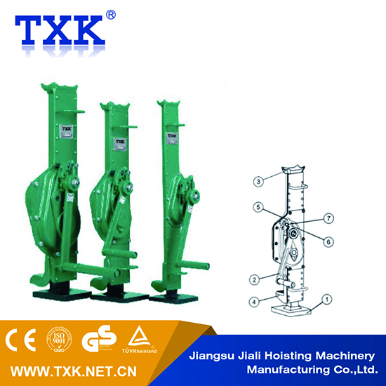 small manual jack mechanical lifting devices