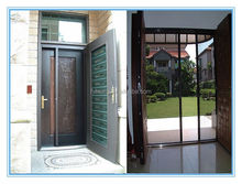 accordion design aluminum alloy profile screen door,new trackless design
