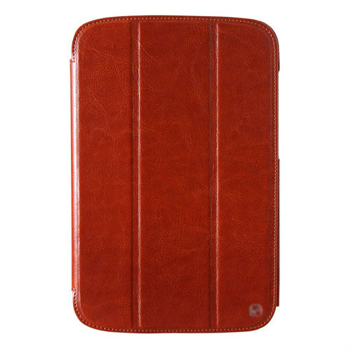 High quality geniune real leather covers case for samsung n5100 note 8.0