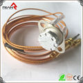 Thermostat sensor gas thermocuple for gas oven safety protector