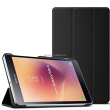 Ultra Slim Triple Folding Smart Cover PC Shell Cover Case for Samsung Galaxy tab A 8.0 2017