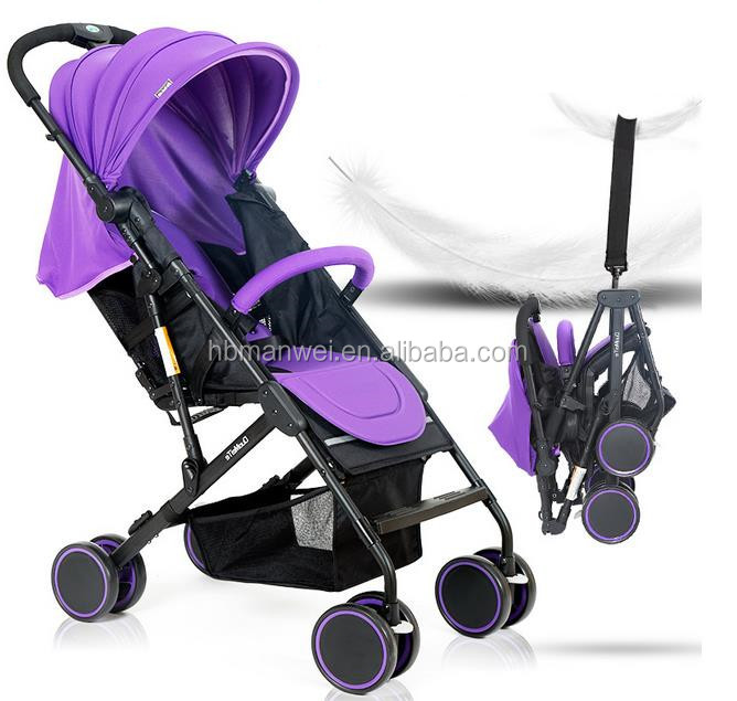 factory wholesale baby easy folding and full coverde sunshadle pushchair , baby stroller