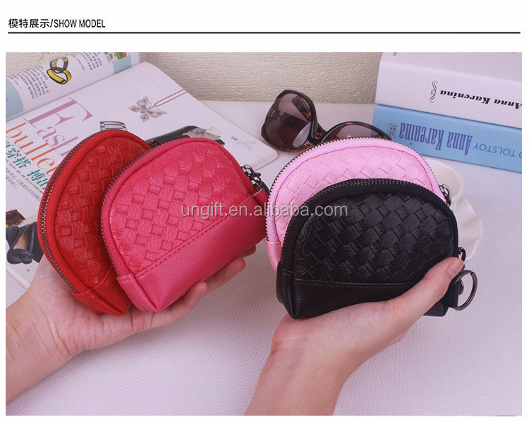 Summer Wallet Female Leather Wallet Candy Color Money Clip Dot Women Purse Mini Short Clutch Purse