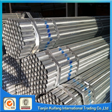 Astm A53 88.9mm Tubo de acero galvanizado bs1387 galvanized round steel pipe weight