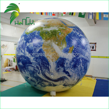 The Best UV Printing For Inflatable Earth Globe
