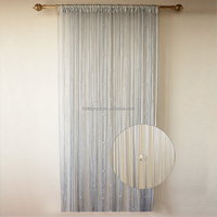 High quality beaded shower room divider fabrics for curtains