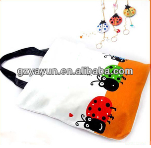 new cotton promotion bags for college girls