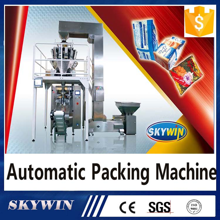 Coffee Chips Food Sugar Sachet Tea Milk Low Cost Pouch Bag Automatic Packing Packaging Weight Machine Price