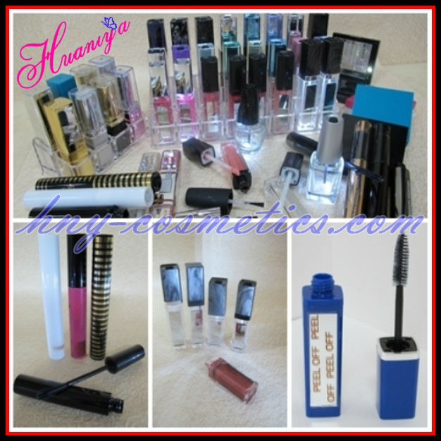 Private  logo lipgloss container square model