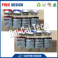 Promotional pharmaceutical custom printing stickers for glass jar