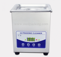 Ultrasonic Cleaner JP-010T power 80W glasses jewelery board parts cleaner 2L
