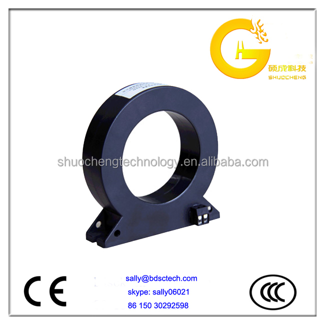 indoor 0.5 200/5A low voltage ring type split core current transformer