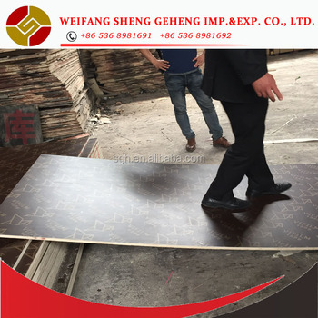 Construction phenolic film faced plywood board reused 10~15 times