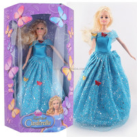DIHAO moving Cinderella doll with music and lights