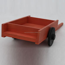 Useful handmade wooden car craft