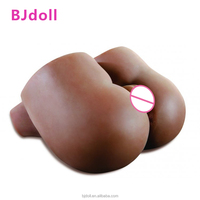 BJDoll hot sell cheap price silicone TPE big fat ass black and vagina big ass love doll for men