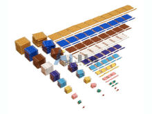 Montessori material The Complete Bead set