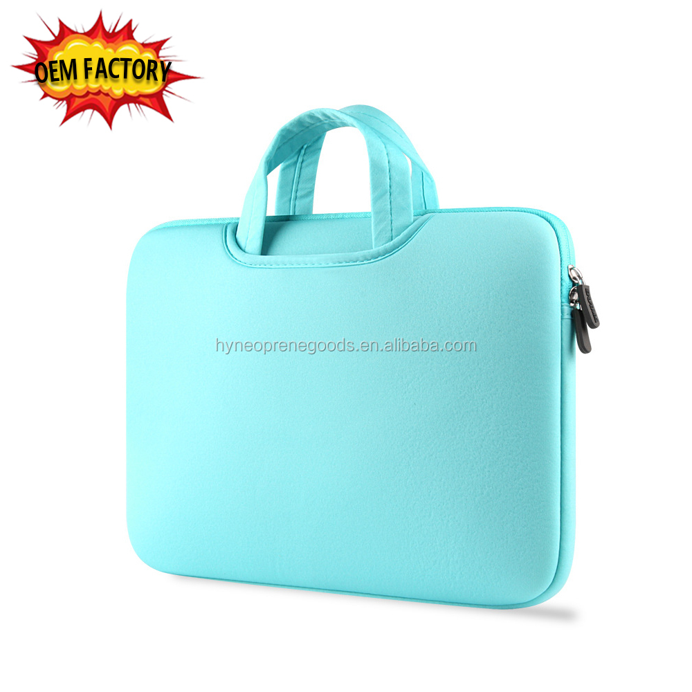 Cheapest 15 inch business laptop bag with handle notebook case sleeve