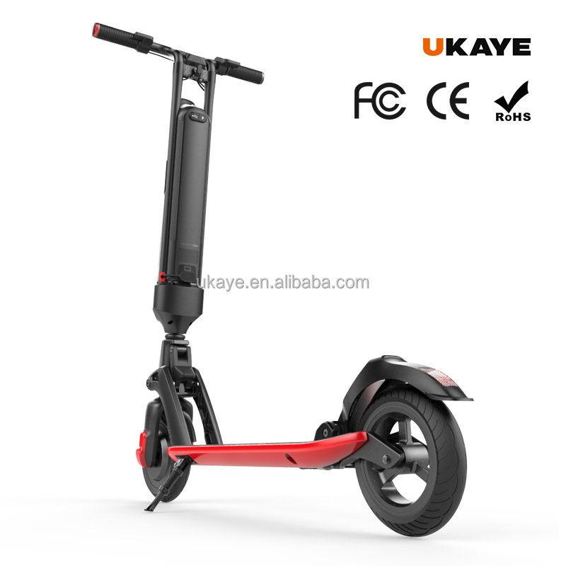 2 wheel city e-scooter 300W 36V lithium <strong>battery</strong> electric scooter