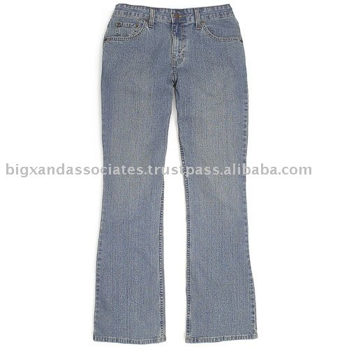Denim Lady's Jeans Trousers