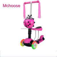 2017 Hot 5 in 1 Three Wheel Best Kick Scooter for Kids , kids kick scooter