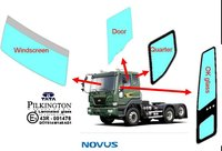 Side OK glass for TATA Novus truck