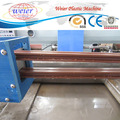 PVC wood plastic composite door panel making machine WPC profile production line
