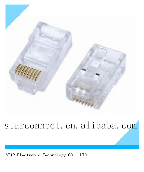 high quality Tyco Cat5E RG45 RJ45 Connector