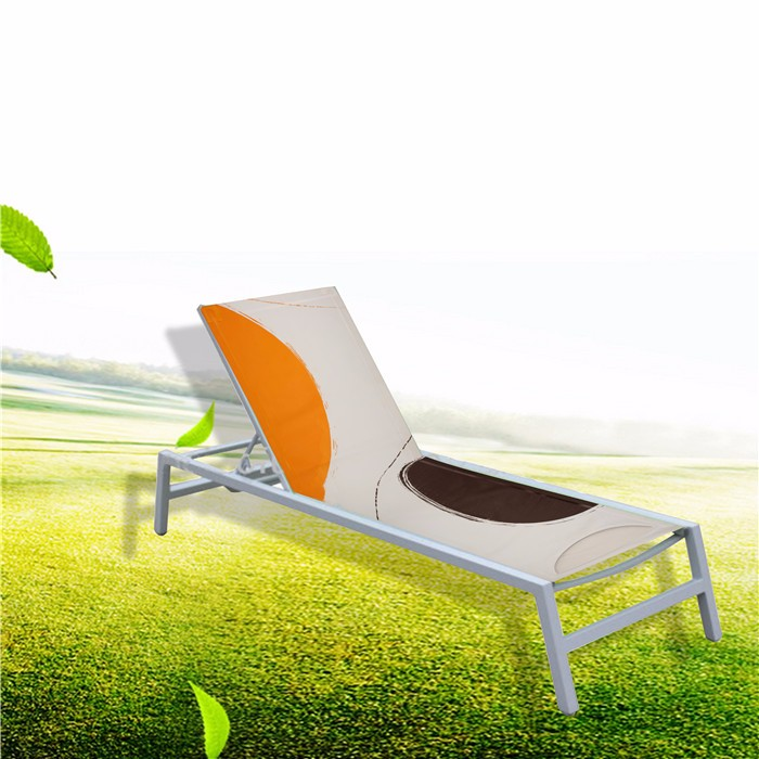 Factory sale custom size beach lounge folding chair cover factory
