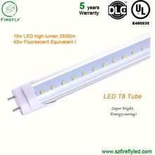 Fast growing DLC-Qualified 1500mm 24w high lumen led tube 8tube ligh for car exhibition