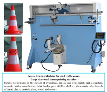 Multi-color Bucket cylinder screen printing machine