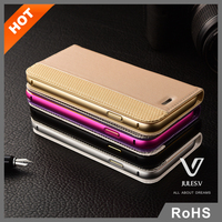 Julesve.V New design PU leather case for Apple iphone6S with build-in card slot