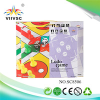 New and hot attractive style ludo game family wholesale price