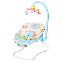 Baby vibrate bouncer,infant chair with electric toy bars,musical baby rocker